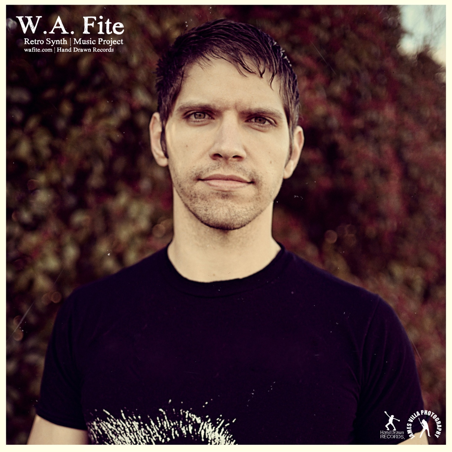 W.A. Fite - © Hand Drawn Records 2013 | James Villa Photography
