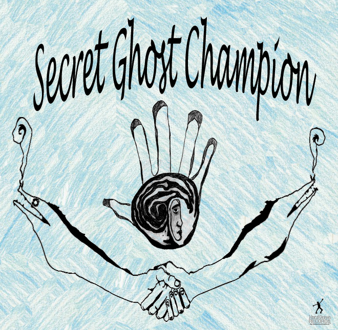 Secret Ghost Champion - Artwork by Ben Hance | © 2011 Hand Drawn Records