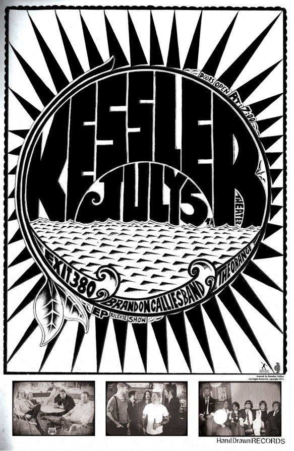FRIDAY, JULY 5TH: THE KESSLER THEATER (Dallas, TX) - Brandon Callies Band CD Release Show