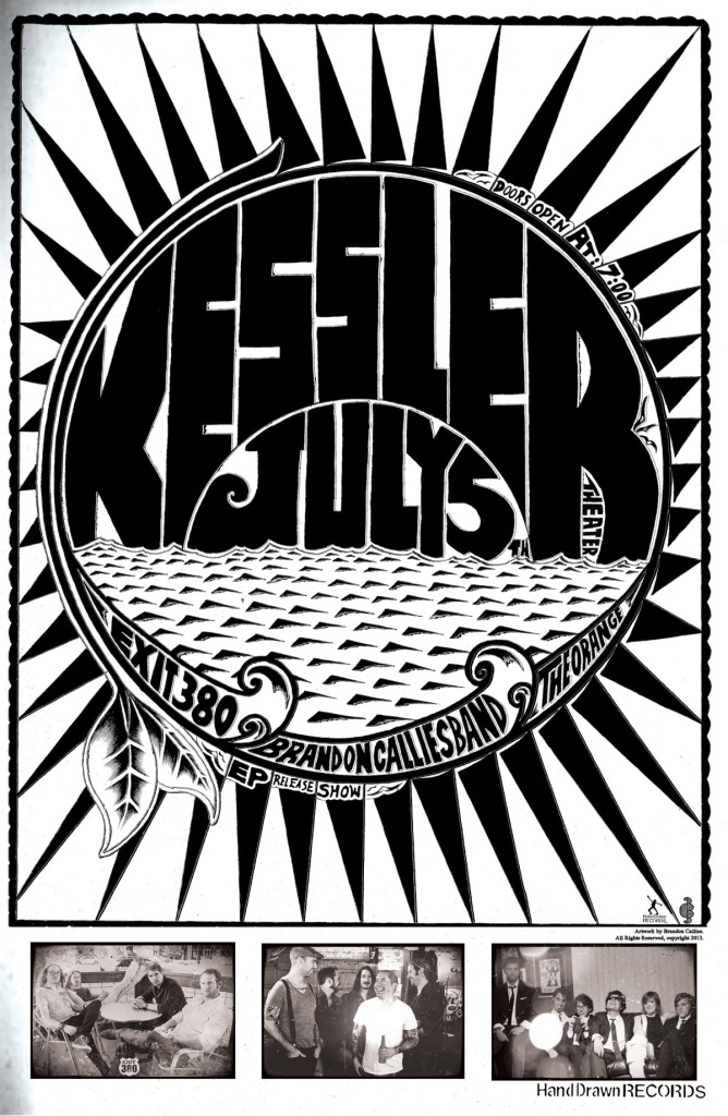 FRIDAY, JULY 5TH: THE KESSLER THEATER (Dallas, TX) - Brandon Callie sBand CD Release Show