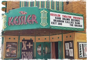 The Kessler Theater Presents: Brandon Callies Band Limited Edition Vinyl Release Show w/ The Orange and Exit 380! FRIDAY, JULY 5TH: Doors at 7pm. Show at 8pm. 18+. Tickets: http://thekessler.org/ Hand Drawn Records 2013