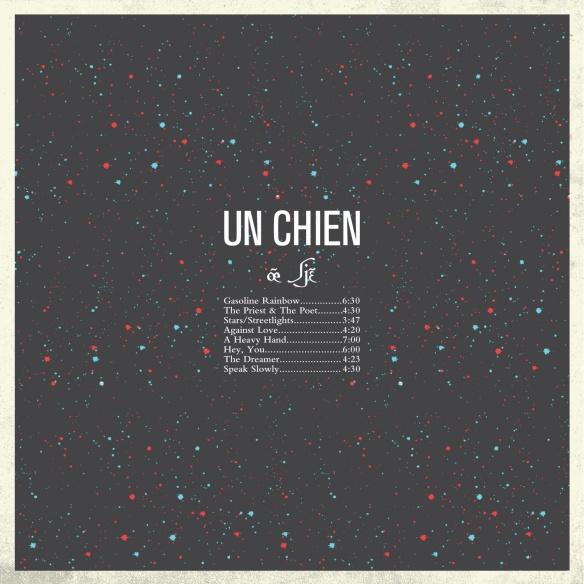 Back Cover Art: Un Chien [œ̃ ʃjɛ̃] by Jordan Roberts & Stephen Beatty 2013
