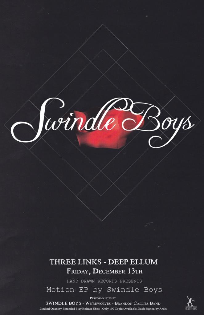Swindle Boys - Album Release, Dec 13th - Dallas, TX