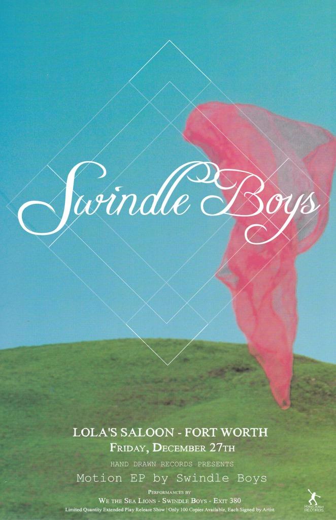Swindle Boys - Album Release, Dec 27th - Fort Worth, TX