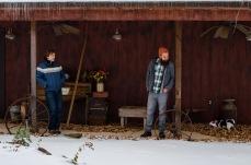 Andrew Tinker & Jacob LaCally (mix engineer) | Photo Courtesy Yana Khaykinson © 2014