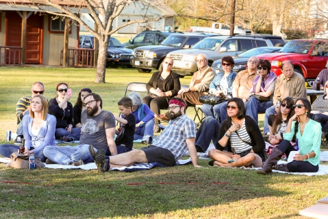 Andrew Tinker Listening Party at Big Acre Sound // On Tour Monthly, Ronnie Jackson Photography 2014